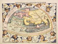 Ptolemaisch general Tafel begreiffend die halbe Kugel der Welt