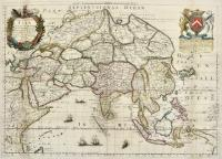 A generall mapp of Asia designed by Monsieur Sanson…