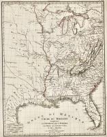 Golfe du Méxique – Cours du Mississipi comprenant la Louisiane, les 2 Florides, une partie des Etats-Unis et Pays adjacents