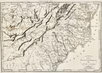 Carta Delle Provincie Meridionali degli Stati-Uniti