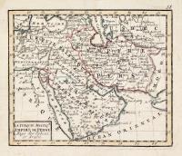 La Turquie Asiatiq. Empire de Perse Pays des Usbecs. et Arabie