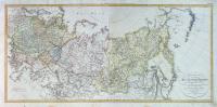 Charte des ganzen Russischen-Reichs in Europa und Asien