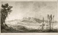 Vue du bassin de Rivoli, (entre les monts Corona et Pipolo).