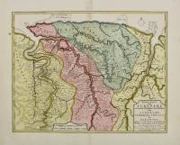Nieuwe kaart van Suriname..