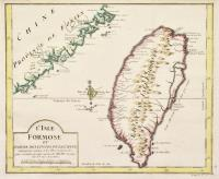 L'Isle de Formose et partie des costes de la Chine suivant les cartes et les observations les plus recentes et entre autres des RR.PP Jesuits.