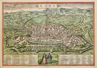 ROMAni Imperii occidentis scilicet et orientis, Tabula geographica ex Schoedis Sansoniani desumpta…