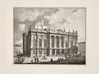 Senza titolo (Veduta del Palazzo Madama).