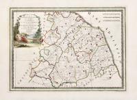 La Legazione d'Urbino, la Marca, l'Umbria, lo Stato di Camerino, i territori di Perugia e di Orvieto ed il Governo di Città di Castello