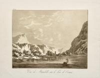 Vue de Mandello sur le Lac de Come
