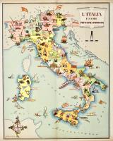 L'Italia e i suoi principali prodotti