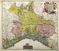 Reipublicae Genuensis et Ducatus Mediolanensis Parmensis et Montsferrati Novissima Descriptio