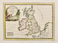 Le isole britanniche antiche cioè la Britannia Maggiore o sia Albione e la Britannia Minore o sia Ivernia