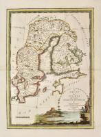 Il regno di Svezia diviso nelle sue provincie e delineato sulle ultime osservazioni.