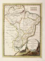 Il Brasile ed il paese delle Amazzoni col Paraguai delineate sulle ultime osservazioni