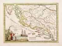La Dalmazia con le isole adiacenti