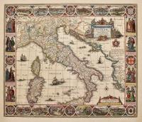 Tabula Italiae, Corsicae, Sardiniae et adjacentium Regnorum nec non viva praecipuarum urbium…
