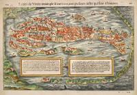 La cité de Venise tresample & maritime, avec plusieurs aisles qui sont a l'environ