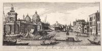 Veduta della Dogana di Mare, della Città di Venezia