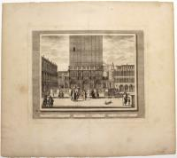 Veduta della Loggetta, in Piazza di S. Marco