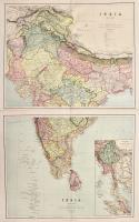 India (south sheet) – India (north sheet)