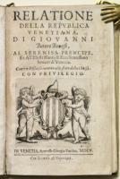 Relatione della Repubblica Venetiana... Con un Discorso intorno allo Stato della Chiesa