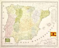 Carta dei Regni di Spagna e Portogallo