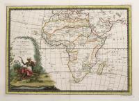 L'Africa secondo le ultime osservazioni divisa ne' suoi stati principali