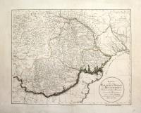 Karte von der Walachei, Moldau und Bessarabien...von Herrn I.F. Schmid