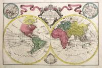 Mappa totius Mundi adornata juxta Observationes…