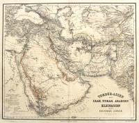 Vorder-Asien oder Iran, Turan, Arabien und die Kaukasus Länder.