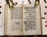 La Sampogna Del Cavalier Marino, Diuisa in Idillij Favolosi, & Pastorali. Al Sereniss. Sig. Prencipe Tomaso di Savoia