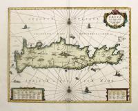 Creta Iovis magni, medio jacet insula ponto