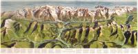 Panorama Courmayeur e Catena del Monte Bianco, Piccolo San Bernardo Gran San Bernardo