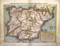 Hispania nach aller seiner gelegenheit in Bergen/Wässern/Stetten/Völckern/Künigreichen und Inseln