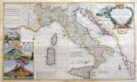 A new map of Italy.