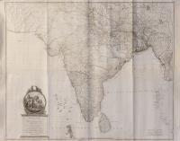 Neueste karte von Hindostan, Bengalen etc. etc.