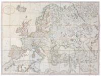 L'Europe partagée dans ses principaux Etats.