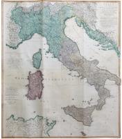 Italy with the addition of the Southern Parts of Germany as far as Pettau in Stiria; Murlakia, Dalmatia The adjacent countries, and all the Iliric Islands.