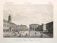 Veduta della Piazza Maggiore di Parma