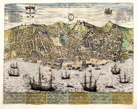 Olissippo, quae nunc Lisboa, civitas amplissima Lusitaniae, ad Tagum totiq Orientis, et multarum Insularum Aphricaeque et Americae emporium nobilissimum