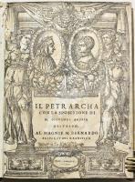 Il Petrarcha con la spositione di M. Giovanni Andrea Gesualdo