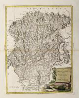 Il Bergamasco diviso ne' suoi distretti.