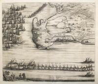 Orbetelli, Ville du Sienois en Toscane assiegée par les Francois.