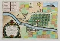 Plan de la ville de Sant-Jago capitale du royaume du Chili…