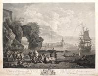 Vue de Pausilype près de Naples