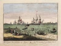 Navigatio piscatorum in portu – La Navigation des pecheurs dans le port.