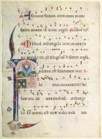 Iniziale F manoscritta
